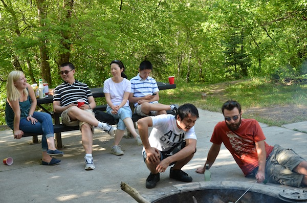 group bbq